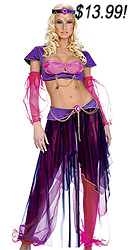 Colorful Belly Dancer