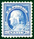 Picture of an Extra Fine Stamp